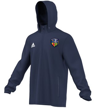 Adidas County Ireland Core 15 Rain Jacket  Adult  Navy