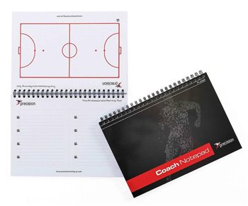 Precision Training A5 Football Pro-Coach Tactic Notepad  - Click to view a larger image