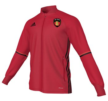 Adidas County Down GAA Condivo 16 Training Jacket  Youth  RedBlack