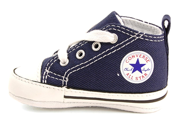 Converse Chuck Taylor All Star First Star Crib Shoes  Baby  Navy