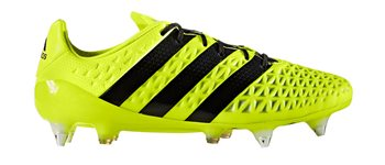 Image of adidas Ace 16.1 SG Football Boots - Adult - Solar Yellow/Core Black/Silver Metallic