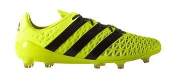 Image of adidas Ace 16.1 FG Football Boots - Adult - Solar Yellow/Core Black/Silver Metallic