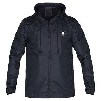 Hurley Blocked Runner 2.0 Full Zip Jacket  Mens  Black