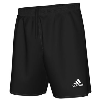 616cc035f40b adidas Parma 16 Shorts - Adult - Black White - Click to view a larger