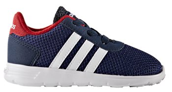 Adidas Lite Racer Infant Trainers  Boys  Collegiate NavyWhitePower Red