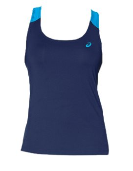 Asics Fitted Tank Top  Womens  Indigo Blue