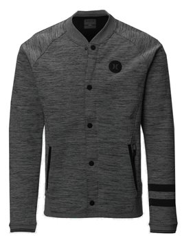 Hurley Phantom Bomber Jacket  Mens  Grey