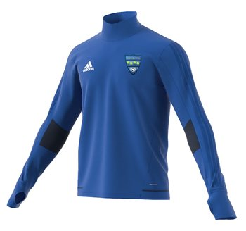 adidas Club Glenmuir FC Tiro 17 Training Top - Adult - Royal/Navy/White  - Click to view a larger image