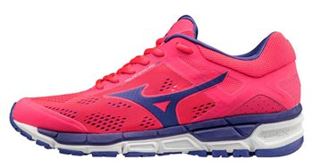 Mizuno Synchro MX 2 Running Shoes  Womens  Diva PinkLibertyWhite