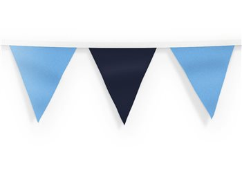 The GAA Store Bunting - Navy & Sky Blue  - Click to view a larger image