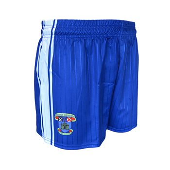 Mc Keever St Vincents GAA Club Shorts - Adult - Royal/White  - Click to view a larger image