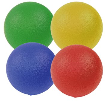 Tuff Skin Sponge Balls - 160mm (Single Ball - Small)  - Click to view a larger image