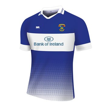Mc Keever St Vincents GAA Training Jersey - Adult - Royal/White  - Click to view a larger image