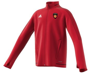 adidas County Down GAA Tiro 17 Training Jacket  Youth  Red
