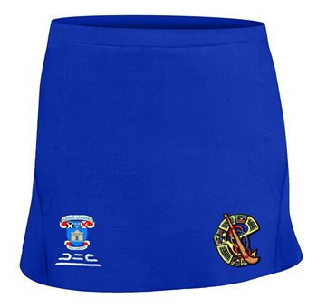 Atak St Vincents GAA Camogie Skort - Girls - Blue  - Click to view a larger image