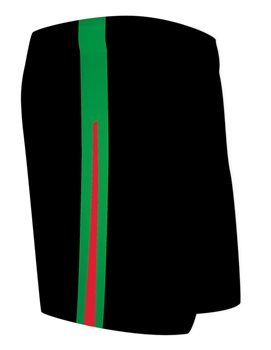 Mc Keever St Colmans Community College Shorts - Adult - Black  - Click to view a larger image