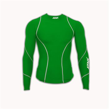 5f4a668b4d Atak Compression Top - Youth - Green - Click to view a larger image