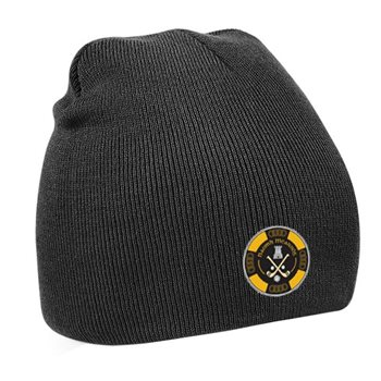 Mc Keever Naomh Mearnog CLG Beanie Hat - Black  - Click to view a larger image