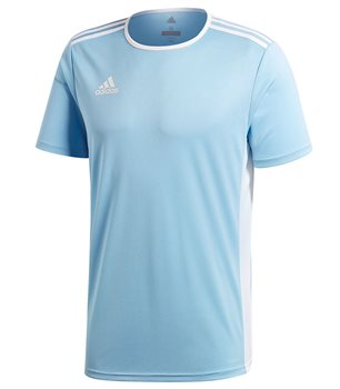adidas Entrada 18 Jersey - Adult - Clear Blue White - Click to view a eba5b2709