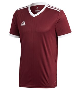 adidas Tabela 18 Jersey - Youth - Maroon/White  - Click to view a larger image