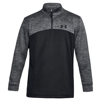 Under Armour Storm Icon 1/4 Zip - Mens - Black/Grey  - Click to view a larger image