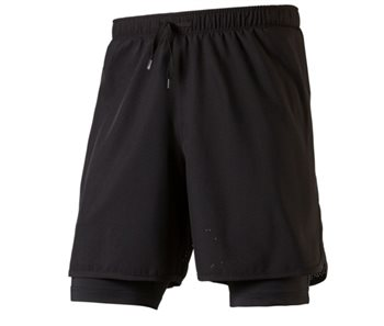 Pro Touch Allen IV UX Running Shorts - Mens - Black  - Click to view a larger image