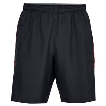 Under Armour Woven Graphic Shorts - Mens - Black/Red  - Click to view a larger image