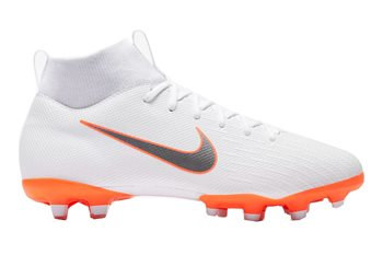 c581de9561f6 Nike Superfly VI Academy MG Football Boots - Youth - White Total Orange -  Click