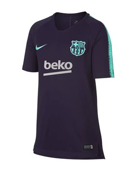 fd26d10ef14 Nike FC Barcelona 2018 19 Breathe Squad Tee - Youth - Purple Dynasty Hyper