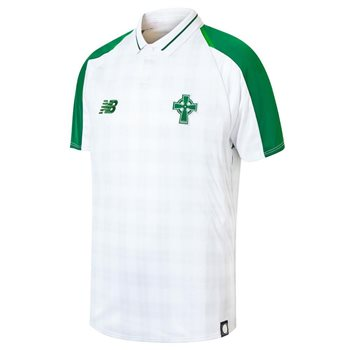 0bbcc5151 New Balance Celtic FC 2018 19 Short Sleeve Away Jersey - Youth -White -