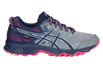 new product f07bc 7706f Gel Sonoma 3 GTX Trail Shoes - Womens - Stone Grey/Pixel Pink - UK Size 4 |  US 6 | EU 37