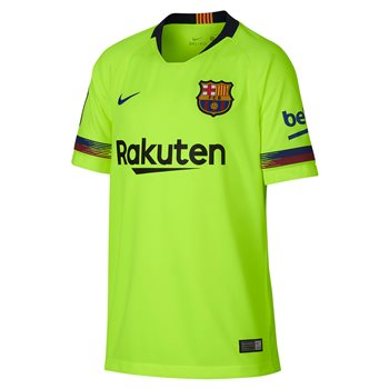 7fceece70cf Nike FC Barcelona 2018/19 Short Sleeve Stadium Away Jersey - Youth - Volt/Deep  Royal Blue | Buy Online | TheGAAStore.com