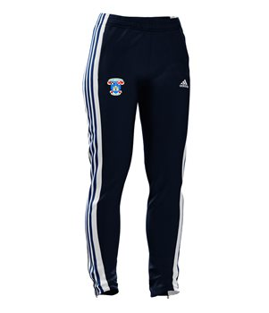 adidas St Vincents GAA Mi Team 18 Training Pants - Womens - Collegiate Navy/White/Bold Blue  - Click to view a larger image