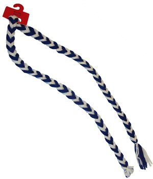 The GAA Store Supporters Wool Plait - Royal/White  - Click to view a larger image