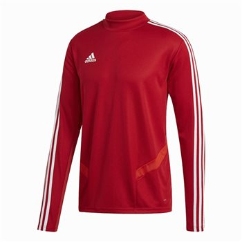 adidas Tiro 19 Training Top - Adult - Power Red/White  - Click to view a larger image