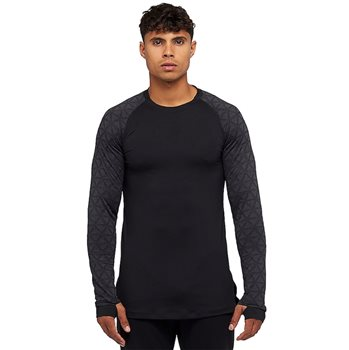 387efd45 Nike Performance Therma Utility Long Sleeve Running Top - Mens -  Black/Anthracite/Dark