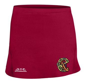 Atak Camogie Skort (Junior) - Maroon  - Click to view a larger image