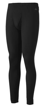 McKinley Baselayer Bottoms - Mens - Black  - Click to view a larger image