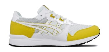 Asics Gel-Lyte Trainers - Mens - White/Mustard  - Click to view a larger image