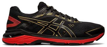 Asics GT-2000 7 Running Shoes - Mens - Black/Rich Gold  - Click to view a larger image