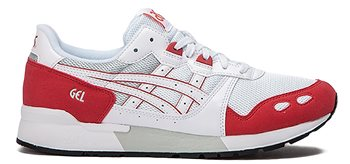Asics Gel-Lyte Trainers - Mens - White/Rouge  - Click to view a larger image