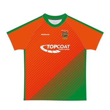 Mc Keever Eire Og Jersey - U18's - Orange  - Click to view a larger image