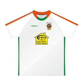 Mc Keever Eire Og Goalkeeper Jersey - Reserves - White  - Click to view a larger image