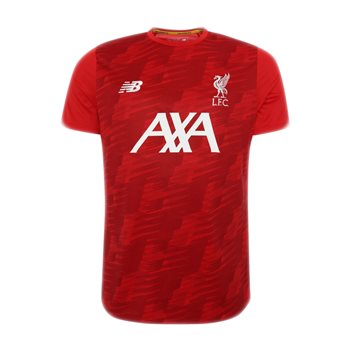 5e1c747214527 New Balance Liverpool FC 2019/20 Off-Pitch Lightweight Training Tee - Youth  -
