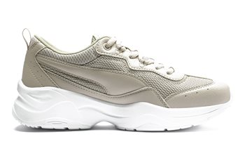 Puma Cilia Shoes - Womens - Grey/Silver  - Click to view a larger image