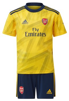 newest collection 2c20a 68cf0 Arsenal FC Official 2019/20 Away Mini Kit - Youth - Yellow - Age 18-24  Months
