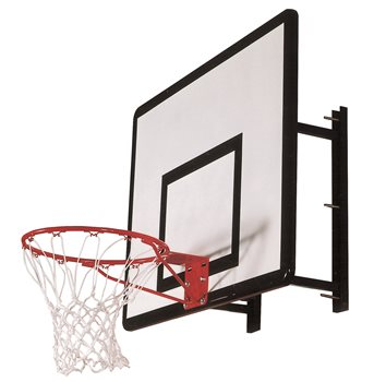 Sure Shot Heavy Duty Wall Mount Basketball Unit  - Click to view a larger image