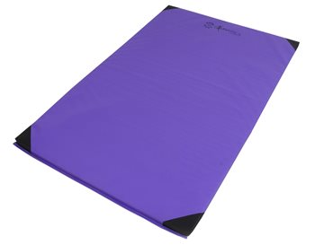 Sure Shot Lightweight Gym Mat - 6ft x 4ft x 1 Inch - Purple  - Click to view a larger image