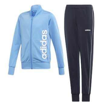 adidas PES Tracksuit - Girls - Real Blue/Legend Ink/White  - Click to view a larger image
