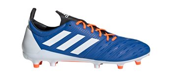 adidas Malice FG Rugby Boots - Adult - Blue/White/Orange  - Click to view a larger image